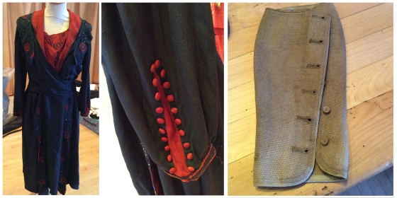 Great War era dress and gaiters